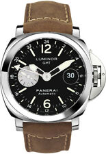 PAM01088 Brand New Panerai Luminor GMT Automatic Acciaio Watch