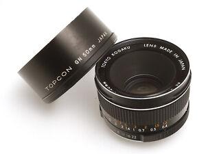 Tokyo Kogaku RE GN Topcor 1:1,8 f=50mm #15804563 schwarz für Exakta Mount