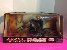 "Marvel Legends ULTIMATE GHOST RIDER & FLAME CYCLE 12"" Figure with Motorcycle"
