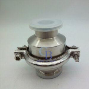 """2"""" Φ51 OD 64mm Sanitary Stainless Steel 304 Tri-Clamp Vertical Check Valve"""