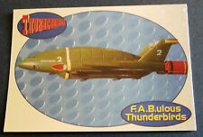 F.A.B.ULOUS THUNDERBIRDS F2 - THUNDERBIRD 2 - Cards Inc. ** Foil Chase Card