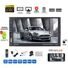 7''2 DIN 8G Android Car Radio GPS+Camera WIFI iOS Mirror Link BT MP5 Touch FM AM