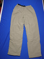 EMS Nylon Insulated Men's Pants fits size M Beige Eastern Mountain Sports