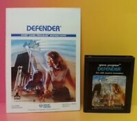 Atari 2600 Defender Game & Instruction Manual Tested Works Rare