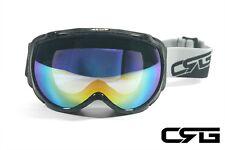 CRG Ski Snow Snowboard ANTI-FOG DOUBLE LENS TRIPLE-LAYER FOAM Goggles CRG98-2A