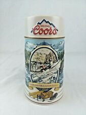 Original Coors The Rocky Mountain Legend Series 1992 Boating Beer Mug