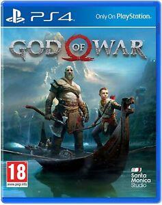 NEW & SEALED! God of War - PlayStation 4 - PS4 - Original Design UK