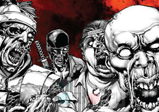 Poster A3 The Walking Dead Zombies Comic Portada / Cover Page 03