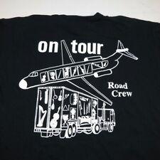 New York Philharmonic On Tour Road Crew Concert Tee T Shirt Mens L Alan Gilbert