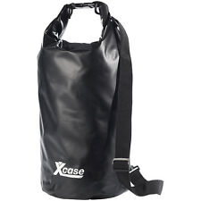 Wasserfester Packsack: Wasserdichter Packsack 16 Liter, schwarz (Gepäcktaschen)