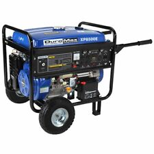 DuroMax XP8500E-Watt 16-Hp Gas Generator w/ Elect Start and Wheel Kit EPA