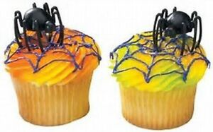 NEW SCAREY HUNCHBACK SPIPER  CUPCAKE TOPPERS  (12)