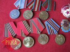 9 Stück Medaille Medal Orden Konvolut Sammlung collection UdSSR медаль СССР Top