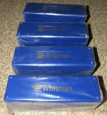 Lot of 4 NEW Felt-Lined Whitman Coin Boxes - Each Holds 20 Slabbed NGC Coins