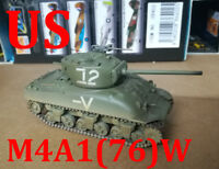 Easy Model 1/72 US M4A1 Sherman Middle Tank (76)w Israeli Armored Brigade #36250