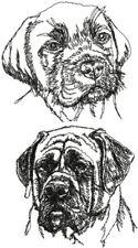 English Mastiff Dog Personalize Embroidered Fleece Stadium Blanket Gift