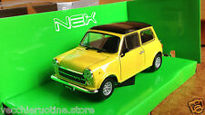 WELLY NEX INNOCENTI MINI COOPER 1300 gialla scala 1/24 british leyland
