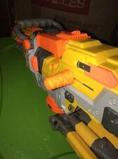 NERF N-Strike Vulcan EBF-25 Blaster Yellow Dart GUN+tripod