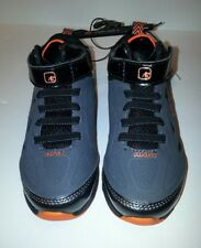AND1 - BT FANTASY BOY'S SIZE 9 GREY/ORANGE BASKETBALL SHOES. NEW WITH TAG!