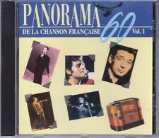 CD ALBUM PANORAMA 60 CHANSON FRANCAISE VOL 1  / BARBARA DASSIN MONTAND LEO FERRE