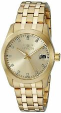 Invicta Womens Wildflower 18k Gold Ion-Plated Stainless Steel Watch