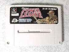 SUPER POWER LEAGUE 1 NINTENDO SUPER FAMICOM SNES 16 BIT GIAPPONESE JP JAP NTSC-J