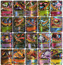 Hot ! New Pokemon TCG 60 Card 35pcs EX MEGA & 25pcs GX Cards No Repeat Gift