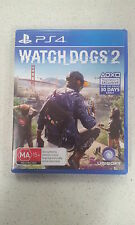 Watch Dogs Watch_dogs 2 Sony PS4 Game New