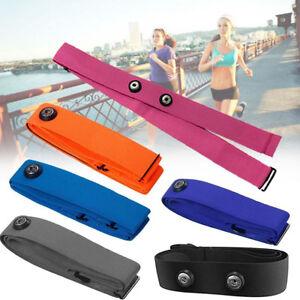 Chest Belt Strap Polar Wahoo Garmin for Sports Wireless Heart Rate Monitor