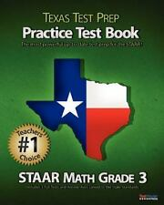 TEXAS TEST PREP Practice Test Book STAAR Math Grade 3: Aligned to the 2011-2012