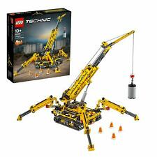LEGO 42097 Technic 2-IN-1 Model Compact Crawler And Tower Crane Building Playset