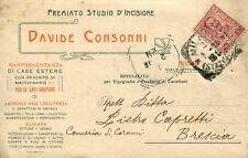 Premiato Studio d'Incisione - Davide Consonni - Milano - Viaggiata (646)