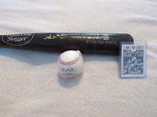 NATE MCLOUTH~BASEBALL~BAT~BALL~CARD~PLAYER~GAME~USED~SIGNED~AUTO~AUTHENTIC~MLB