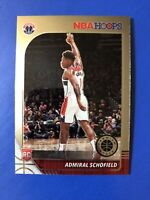 Admiral Schofield NBA HOOPS Premium Stock 2019-20 ROOKIE RC No. 231 🏀 Wizards