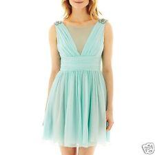 Jill Stuart Studio Illusion V-Neck Chiffon Dress Size 8 New With Tags