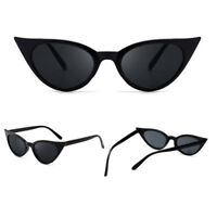 Fashion Retro Cat Eye Sunglasses Women Vintage Small Female Shade UV400 Eyeglass