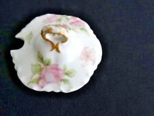 Haviland Limoges Replacement Jam/Marmalade Lid Roses Schl #39F H&CO Blank #1