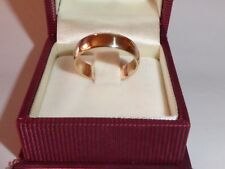 Anillo 585 Oro Amarillo Oro Anillo de Bodas Alianza Tamaño 58-18,4 mm 527