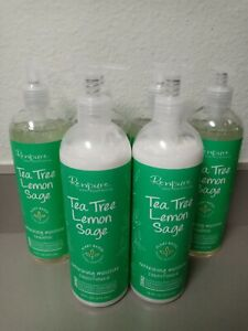 Renpure Tea Tree Lemon Sage Refreshing Moisture Shampoo/Conditioner 16oz 6 Pack