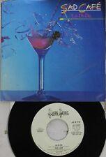 Pop Promo Picture Sleeve 45 Sad Cafe - La-Di-Da / La-Di-Da On Swan Song