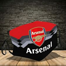 Arsenal Logos, Cotton 3D Face Mask
