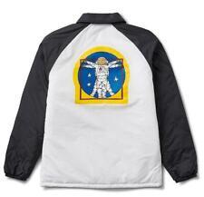 35bbff368fa VANS X NASA Space Voyager Torrey Jacket Vn0a3hxzwuz White Black Mens Size L