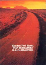 Ford Sierra UK market 1982 LAUNCH sales brochure