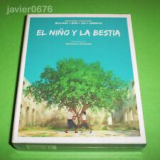 EL NIÑO Y LA BESTIA EDICION LIMITADA BLU-RAY DVD CD LIBRETO NUEVO Y PRECINTADO