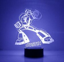 Transformers LED Night Light, with Remote Control, Autobot Kids Room Night Light