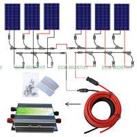 600W 500W 400W 300W 200W 100W Solar Panel Kit for Home Off Grid Solar System