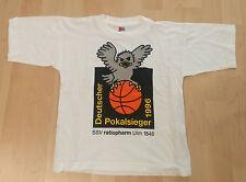 Basketball Fanshirt SSV ratiopharm Ulm 1846 Pokalsieger T-Shirt Gr.140 Sammler