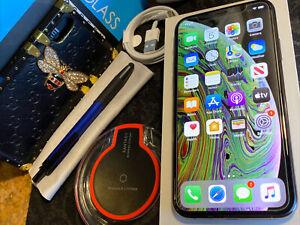 Apple iPhone XS (64gb) USA Blacklisted: rSim Unlock (A1920) Open-Box {iOS13}94%
