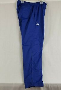 Adidas Climaproof Mens XL Mesh Sweat Track Warmup Workout Pants Zipped Ankles