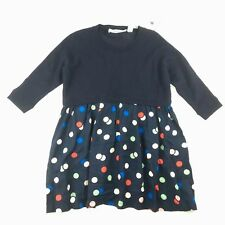 Girls size 2, Country Road, navy confetti knit dress, NEW